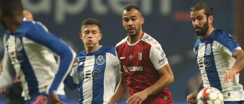 Resultado de imagem para SC Braga derrota FC Porto e ergue Taça da Liga pela segunda vez